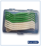 Transparent Box for Curved Floss Pick